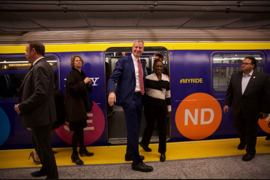 A New Subway Line for a New Year